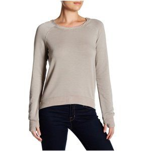 H By Bordeaux Zip Back Fleece Sweatshirt XS #3304